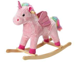 Chad Valley Rainbow Rocking Unicorn or Rocking Horse £18 with code at Argos