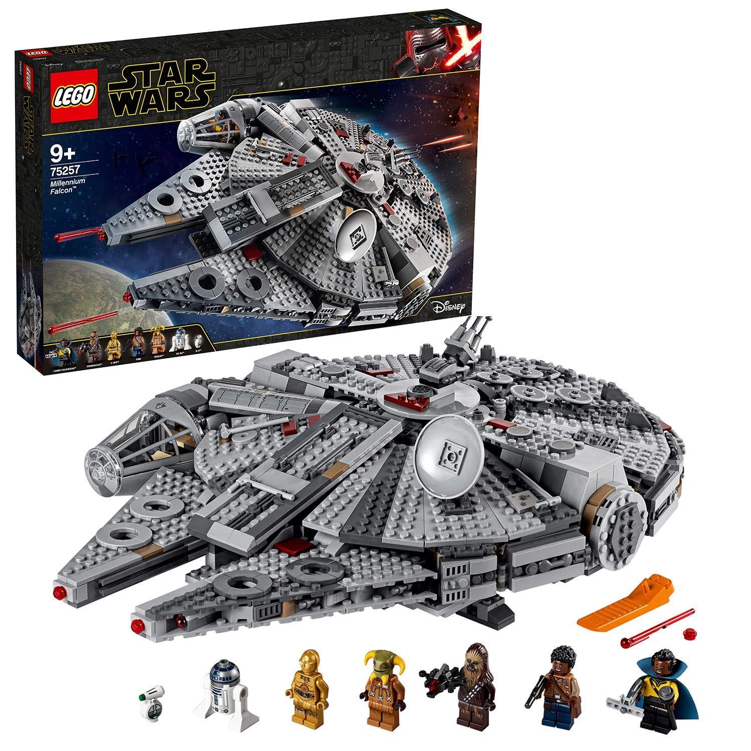 LEGO 75257 Star Wars Millennium Falcon Starship Construction Set £120 Amazon