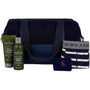 Joules Mens Weekend bag £24 @ Boots - free order & collect