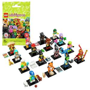 LEGO Minifigures Series 19 Limited Edition 71025225 £2.00 @ Argos (buy 10 for £16)