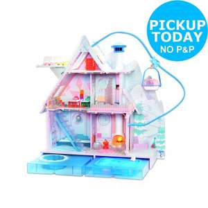 LOL Surprise Winter Disco Chalet Doll House £180 @ Ebay