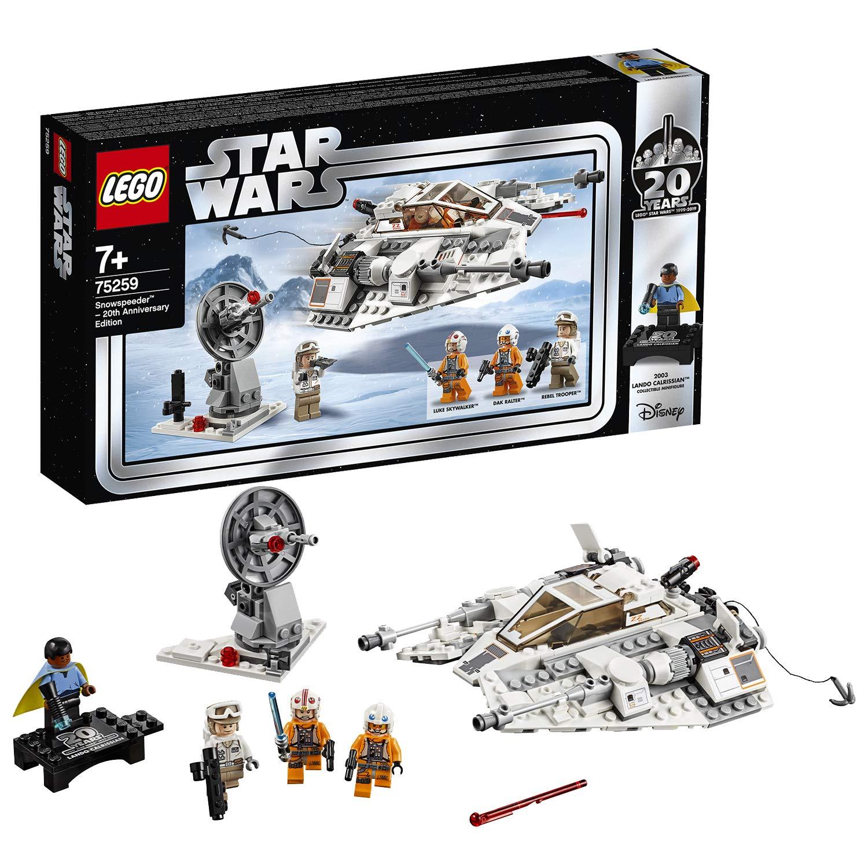 LEGO 75259 Star Wars Snowspeeder - 20th Anniversary Edition Set £24.80 Amazon