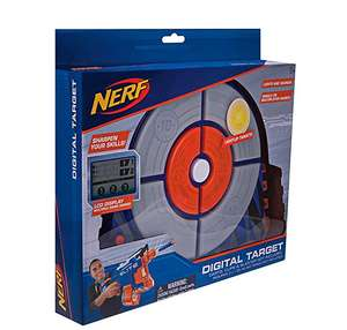 NERF NER0156 Elite Digital Target Game from Amazon £16 (Prime) / £20.99 (non Prime) at Amazon