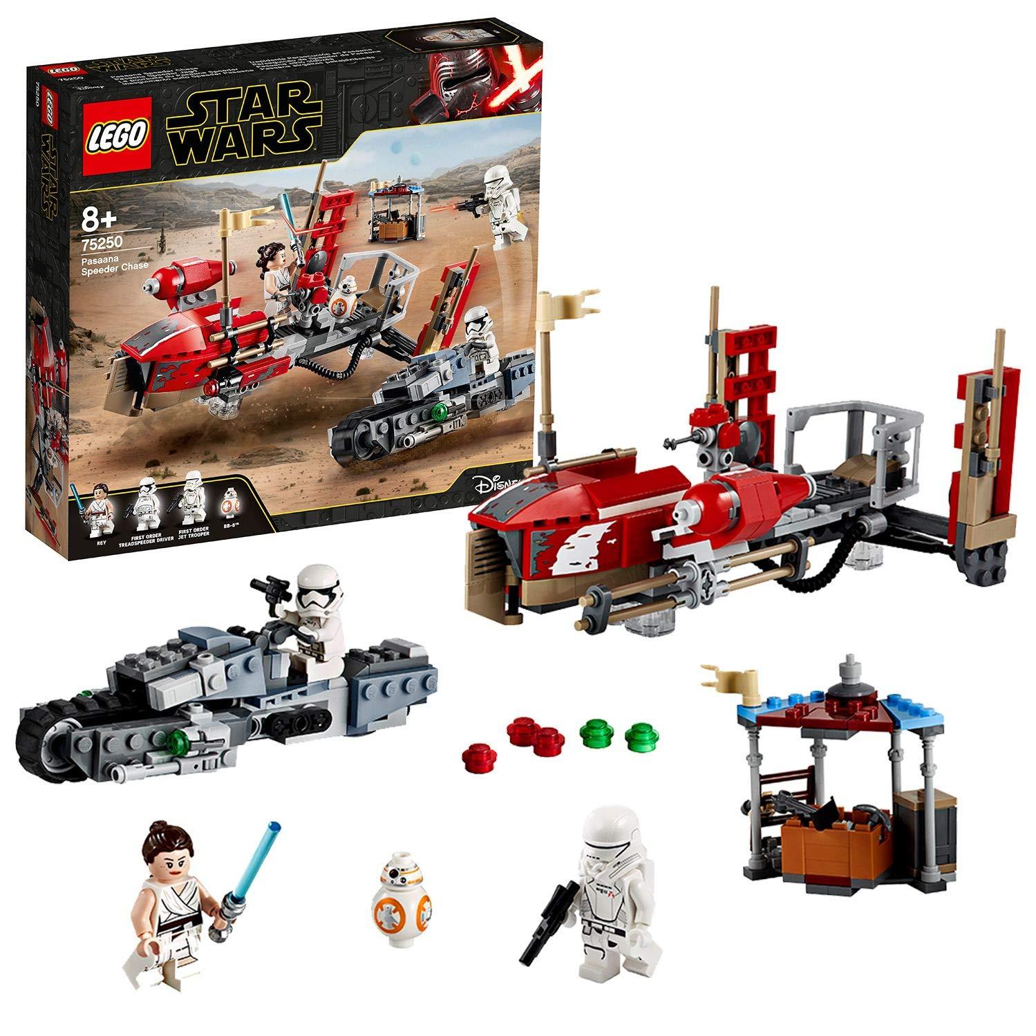 LEGO 75250 Star Wars Pasaana Speeder Chase £36 Amazon