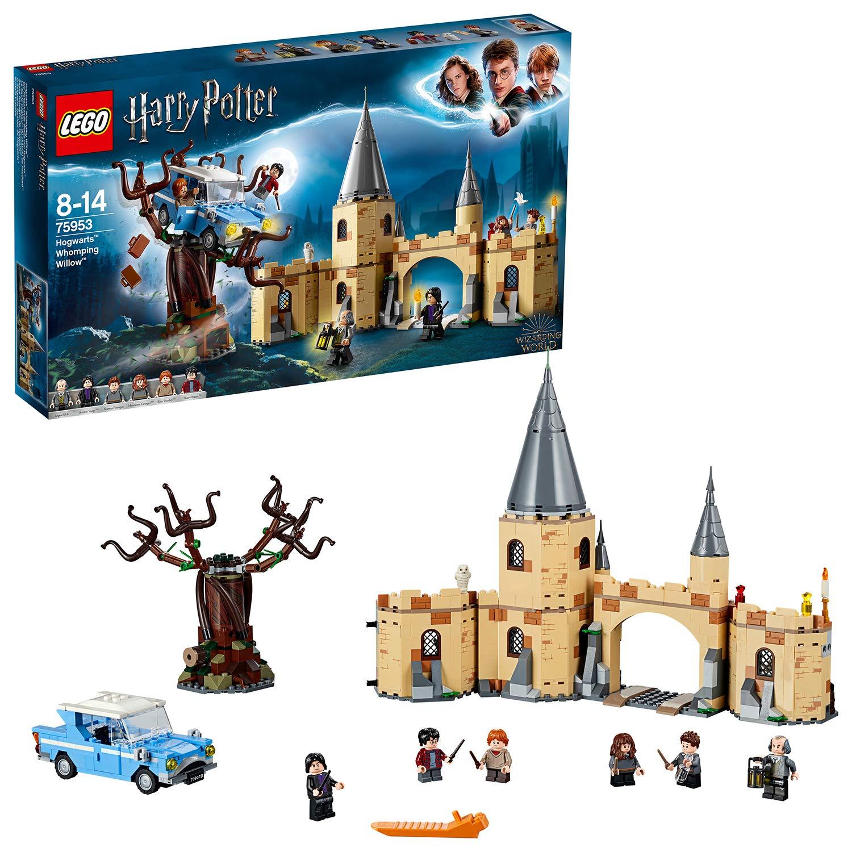 LEGO 75948 Harry Potter Hogwarts Castle Clock Tower £54.40 & LEGO 75953 Harry Potter Hogwarts Whomping Willow £38.40 Amazon