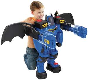 Imaginext DC Super Friends Batbot Xtreme £54 at Argos