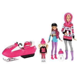 Barbie Sister Fun Dolls Gift Set (was £55) Now £22 with code + Free Click & Collect @ Argos