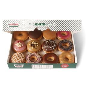 Krispy Kreme Mixed dozen BOGOF £12.75 at Tesco