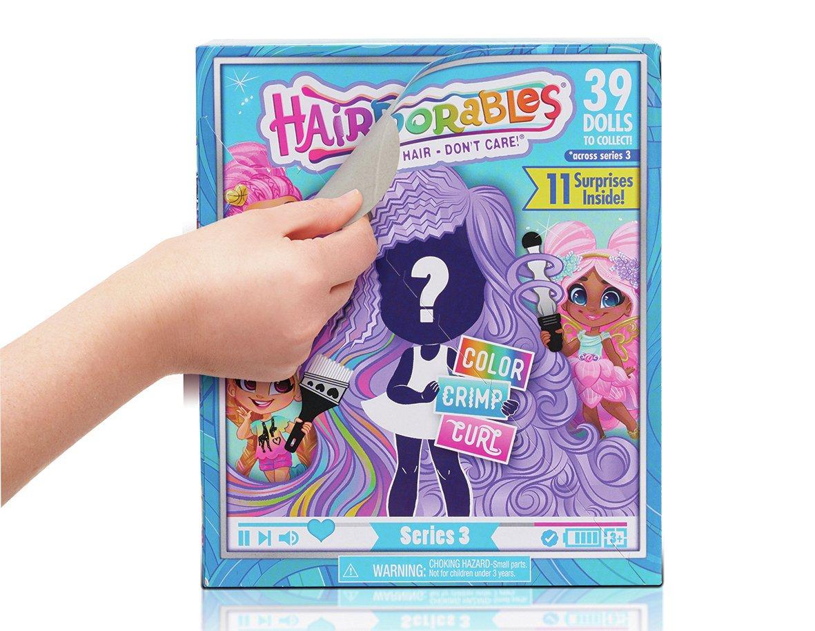 Hairdorables Doll Assortment - 1 Doll provided £7.50 Argos