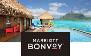 Get 50% extra Marriott Bonvoy points with American Express Membership Rewards points
