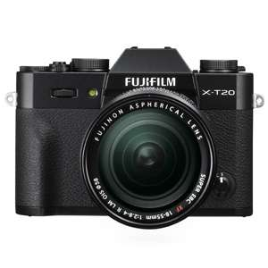 Fujifilm X-T20 (black) mirrorless Digital Camera with XF18-55 mm F2.8-4 R LM £799 @ Amazon (£709 after cashback)
