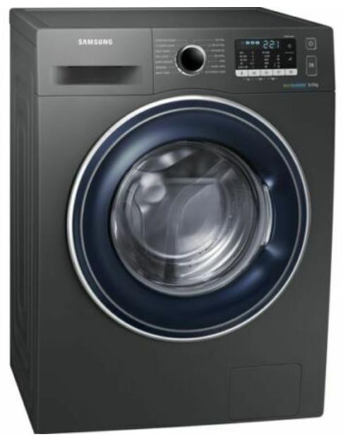 SAMSUNG ecobubble WW80J5555FX/EU 8 kg 1400 Spin Washing Machine - Graphite / White + 5 Year Guarantee £329 with code @ Currys