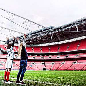 Tour of Wembley stadium for 2 £4 @ Red letter days
