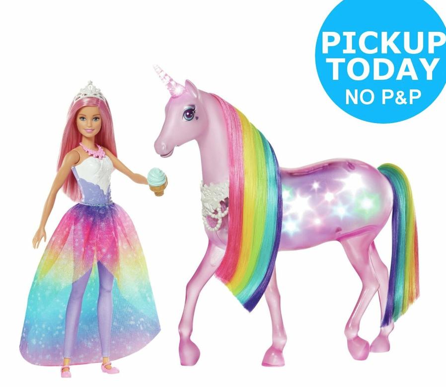 Barbie Dreamtopia Magic touch unicorn and doll £32 @ Argos Ebay Free click and collect