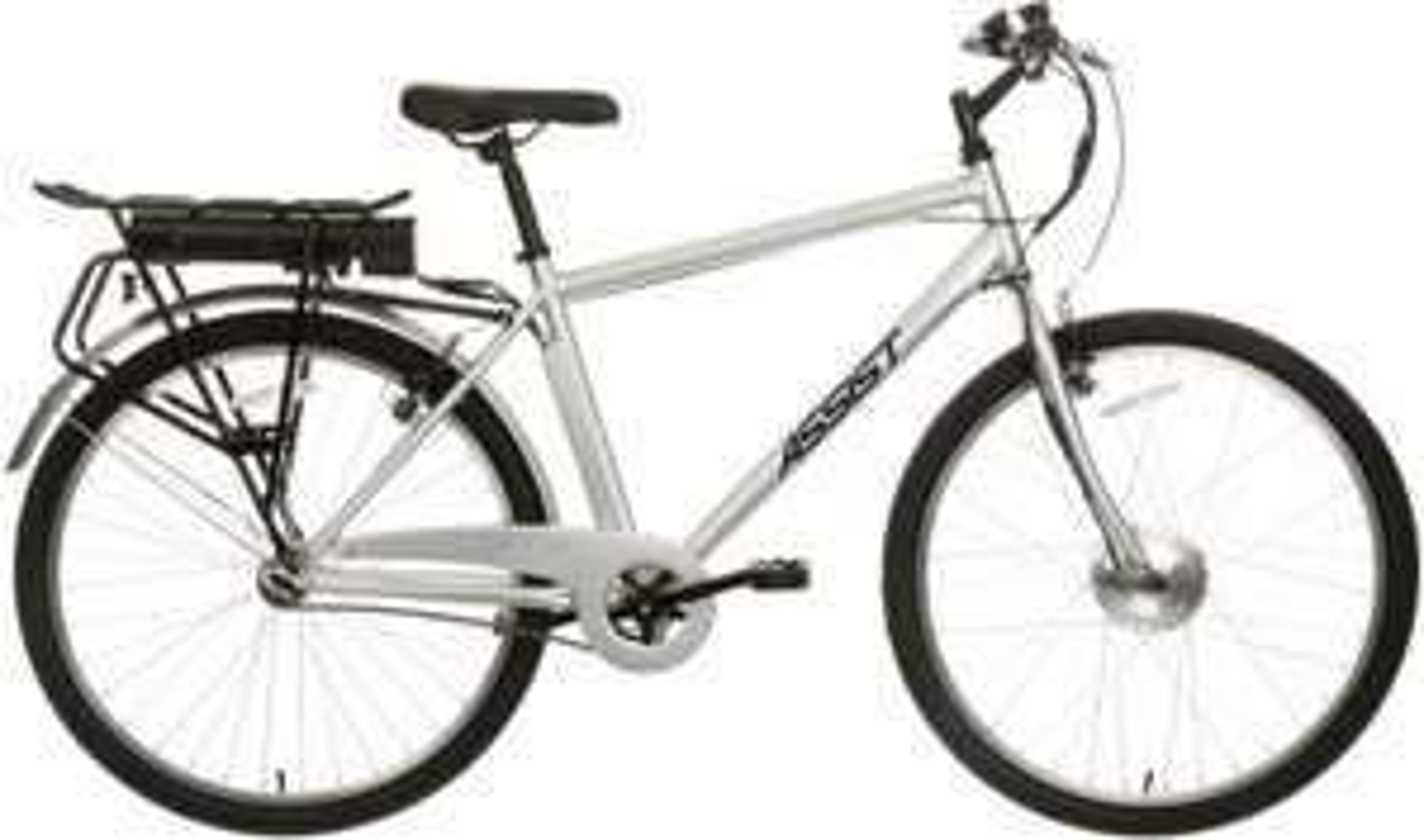 """Assist Crossbar Hybrid Electric Bike V Brake 26"""" Wheel Bicycle Steel Frame only £431.10 @ halfords ebay"""