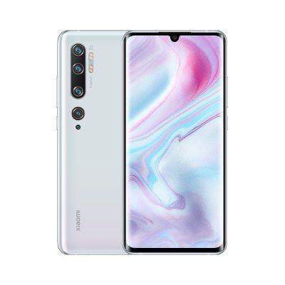 Xiaomi Mi Note 10 (CC9 Pro) 128GB - 5260mAh Battery - 108MP Penta Camera Phone Global Version - White Smartphone £392.50 @ Gearbest