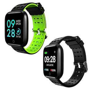 Lenovo E1 1.33-inch Screen Sports Smartwatch / Built In Heart Rate Monitor - Global Version in Green or Black £23.70 Delivered @ Gearbest