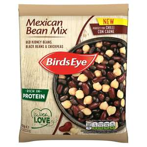 Birds eye mexican bean mix - two for £1 at Heron