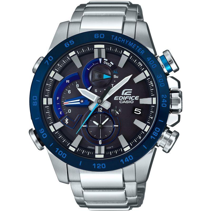 Casio Edifice Men's Bluetooth Smart Solar Steel Bracelet Watch £120 at Watchshop