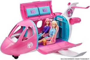 Barbie GDG76 Dreamplane Playset with Accessories, Multicolour £40 at Amazon