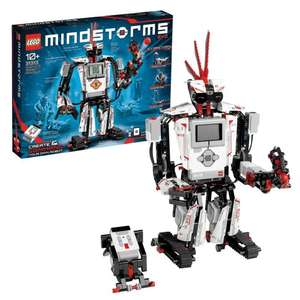 LEGO 31313 Mindstorms EV3 Robotics Kit, 5 in 1 App Controlled Model with Programmable Interactive Toy Robot £192 at Amazon
