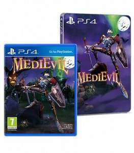 Medievil + Steelbook (PS4) £22.95 Delivered @ The Game Collection