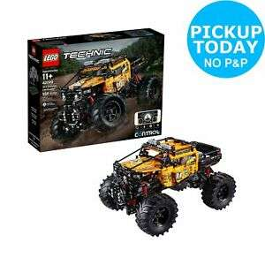 LEGO Technic Control+ 4x4 X-treme Off-Roader Truck Set - 42099 £144 @ Argos eBay click and collect