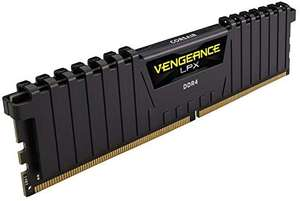 Corsair CMK32GX4M2D3000C16 Vengeance LPX 32 GB DDR4 3000 MHz RAM - Black - x2 £124.98 @ Amazon