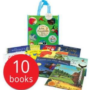 Julia Donaldson storybook collection of 10 books in a Bag £17.94 delivered @ The Book People