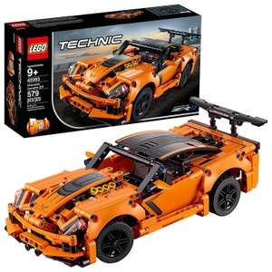 LEGO 42093 Technic Chevrolet Corvette ZR1 Race Car, 2 in 1 Hot Rod Toy Car Model, Racing Vehicles Collection £24.00 Amazon