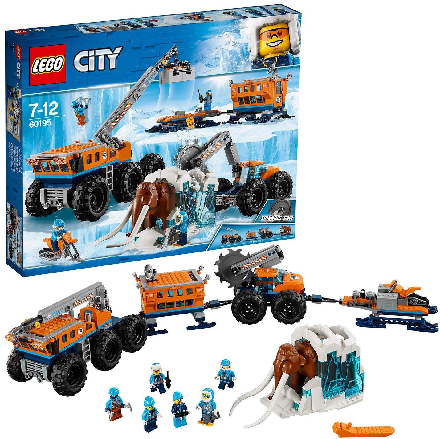 LEGO 60195 City Arctic Expedition Arctic Mobile Exploration Base £50.97 Amazon Prime