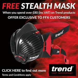 Claim a free Trend Stealth mask when you spend £80 on trend items (FFX)
