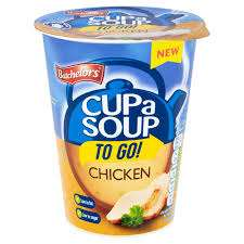 3 Pots of Batchelors Cup a Soup To Go! Chicken, Tomato or Vegetable with Croutons £1 @ Heron Foods Abbey Hulton
