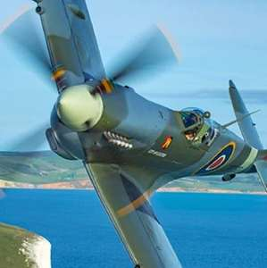 30 Minute Spitfire Simulator Experience in Newcastle £12.30 with code @ Red Letter Days