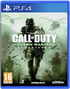 Call of Duty 4: Modern Warfare PS4 Game £12.99 at Argos