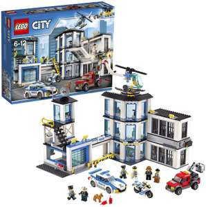 LEGO 60141 City Police Station, Helicopter Car and Bike Toys for £52 Argos