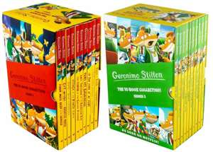 20 Geronimo Stilton children's books — two box sets of series 1 & 2 for £17.99 delivered @ Books2Door