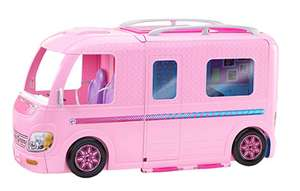 Barbie ESTATE Dream Camper Pink Pop Out Caravan for Dolls, Accessories Included £47 @ Amazon