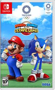 Mario & Sonic At The Olympic Games Tokyo 2020 (Nintendo Switch) £41.50 @ CEX