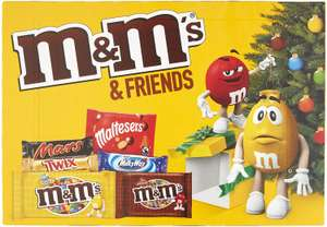 M&M's & Friends Medium Selection Box 144 g - Pack of 8 for £8 @ Amazon (+£4.49 Non-prime)