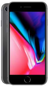 iPhone 8 64GB on EE - Unlimited Minutes and Texts, 10GB for £28 per month with 0 upfront (24 month - £672) @ fonehouse