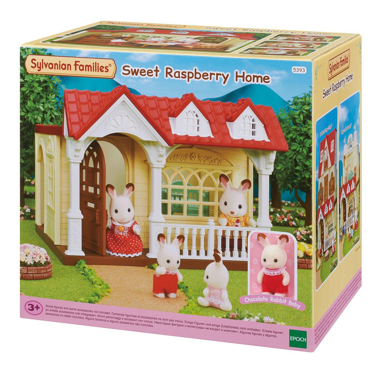Sylvania families sweet raspberry home playset - £13.30 @ Argos