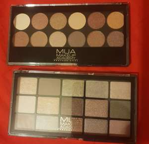MUA makeup eye shadow palette £1 @ Poundland (Slough)