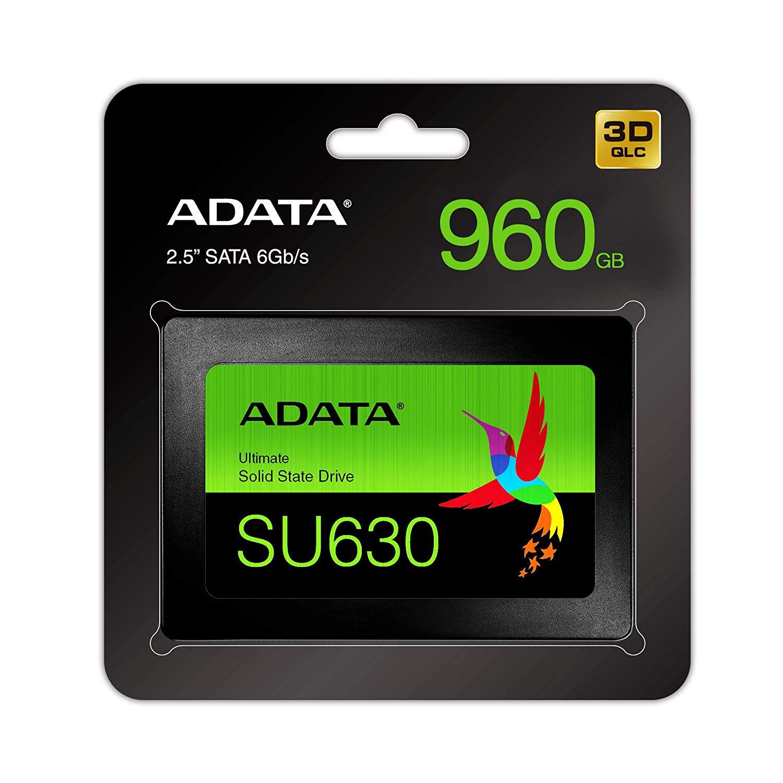 ADATA Ultimate SU630 960GB Solid State Drive, Black - £84.96 delivered @ Amazon
