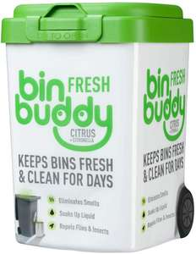 6 pack of Bin Buddy Fresh Citrus Zing Bin Freshner, 450 g, £11.35 @ Amazon prime (plus 3.99 non prime)