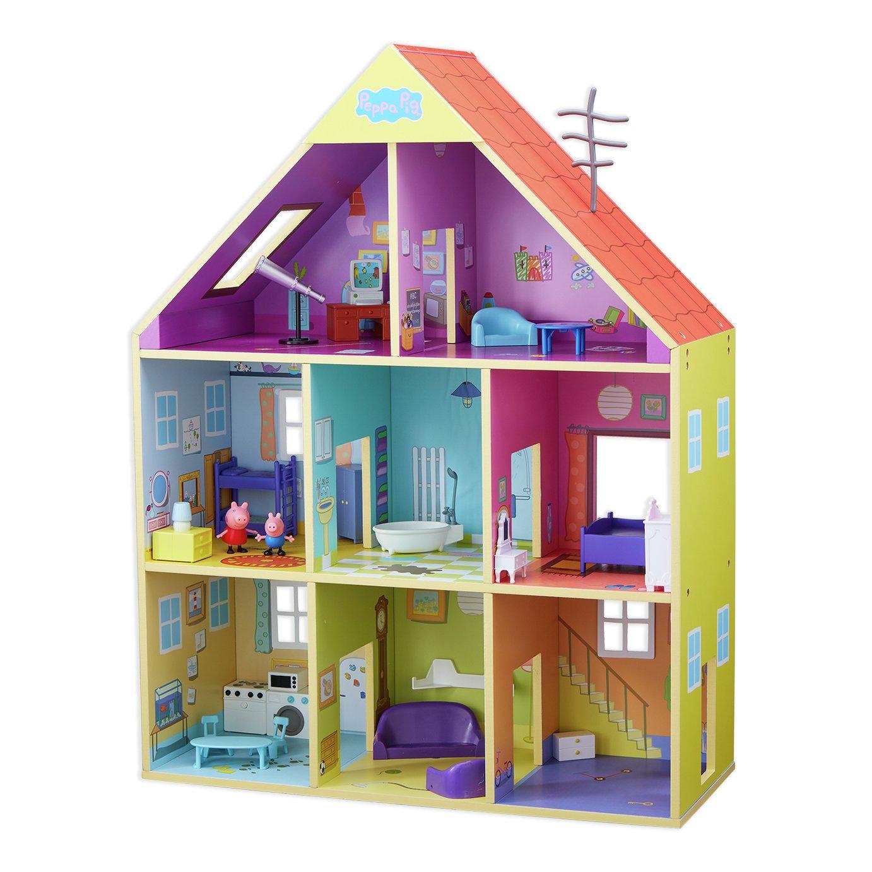 Peppa pig wooden dolls house - £48 using code @ Argos