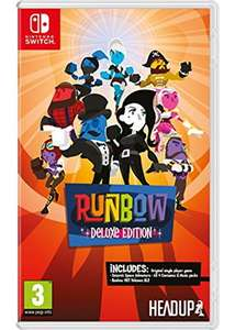 Runbow Deluxe Edition - Nintendo Switch - Base.com £13.09