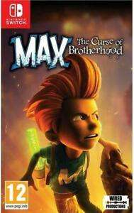 Max The Curse of Brotherhood - Nintendo Switch - Ebay.co.uk £12.99 - Sold by pc-software / eBay