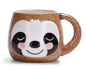 Sloth mug just £3 @ Asda (add on item with £15 spend) also instore