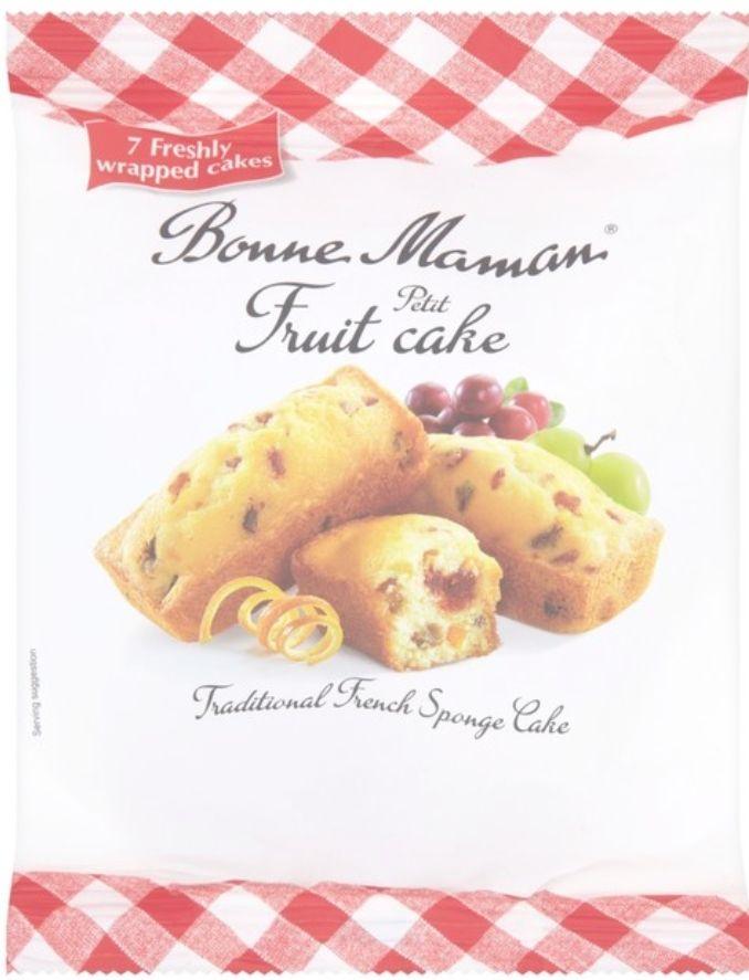 Bonne Maman Petit Fruit Cake 7 per pack £1.50 at Morrisons